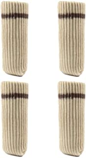 Bumpy Road 12pcs Chair Leg Socks Cloth Floor Protection Knitting Wool Socks Anti-slip Table Foot Furniture Feet Sleeve Cover Cat Scratching