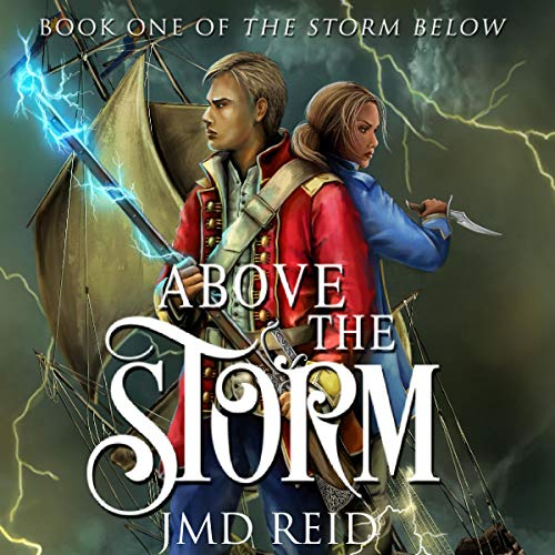 Above the Storm Audiobook By JMD Reid cover art