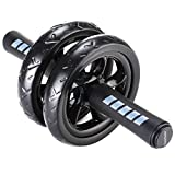 Readaeer Ab Roller Wheel Abdominal Exercise Workout Equipment with...