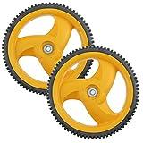 Genuine FLYMO trasera rueda y neumático para modelos McCulloch M53-550CMW para...