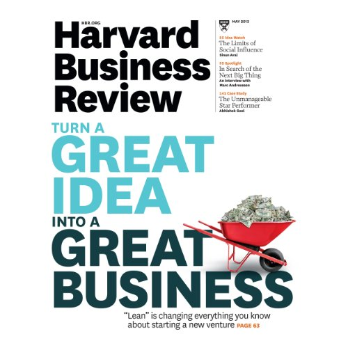 Harvard Business Review, May 2013 cover art