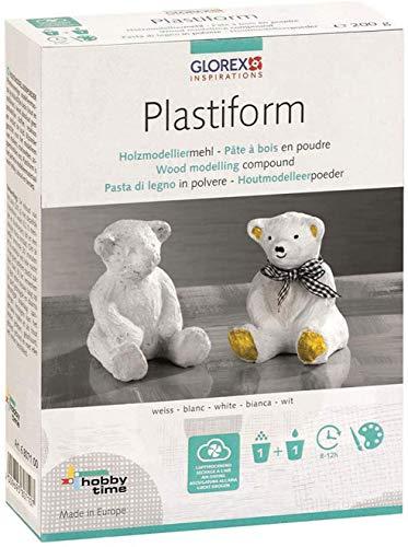 Plastiform Box, elfenbein 1Kg Modelliermasse