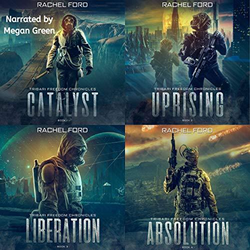 The Tribari Freedom Chronicles Boxset cover art