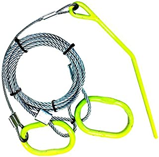 Timber Tuff TMW-48 Log Choker Cable with Ring and Probe Stake by BAC Industries