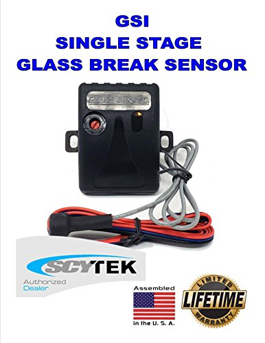 SCYTEK GSI SINGLE STAGE GLASS BREAK SENSOR UNIVERSAL FOR ALL CAR ALARMS