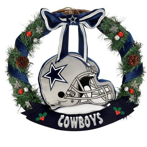 """FOCO NFL Dallas Cowboys 20"""" Helmet Door Wreath"""
