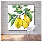 Leinwanddruck 80x80cm Kein Rahmen HD Öl Frutis Gemälde