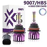 9007 HB5 LED Headlight Bulbs High Low Beam 6000K Cool White Bright...
