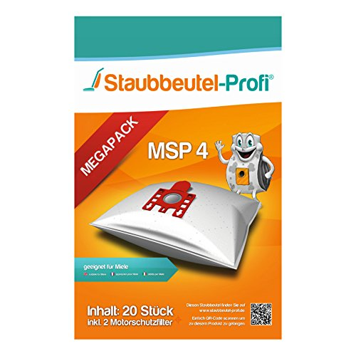 20 Staubsaugerbeutel geeignet für Miele Complete C2 Parquet PowerLine - SFAC1 von Staubbeutel-Profi®