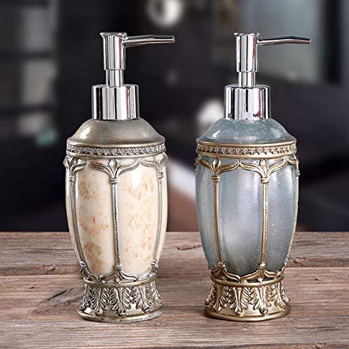 YXISHOME Bomba Vintage Dispensador de jabón líquido Marca Baño Fregadero de Cocina...