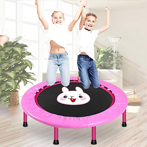 FANGX Cama elástica para niños,Plegable Trampolín Fitness Juguetes de Trampolín de Fitness Juegos Deportivos para la Primera Infancia