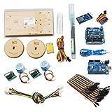 Dibuje Pintura de Pared del Robot con el Cable Plotter Arduino proyectista Kit Polar Gráfico con Motor DIY Stem Juguete de Piezas (Color : Full Set Robot)