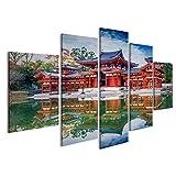 islandburner Bild Bilder auf Leinwand asiatischer Tempel