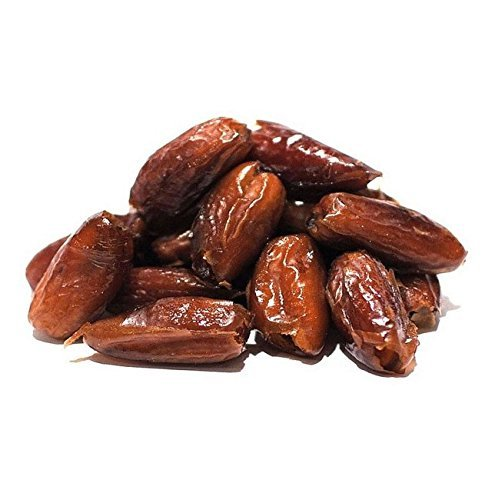 Anna and Sarah Pitted Dates, 5 Pound Bag, California Deglet Noor Dates, No Sugar Added, Natural Pitted Dates in Resealable Bag, 5 Lbs