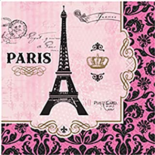 Amscan A Day In Paris Lunch Tissues - Multi Color