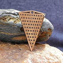 Abracadabra Talisman, Abraxas amulet, Ancient magic symbol for healing