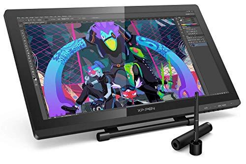 XP-PEN Artist 22 Pro Grafiktablett 21,5 Zoll HD IPS Pen Display unterstützt Verbindung mit 4k Bildschirm für Windows & Mac mit Ständer Gratis Software