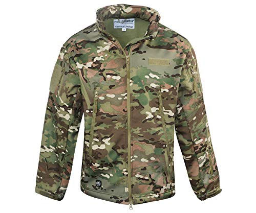 Mc Allister Tactical Softshell Jacke (TAC-OP-Camo, XL)
