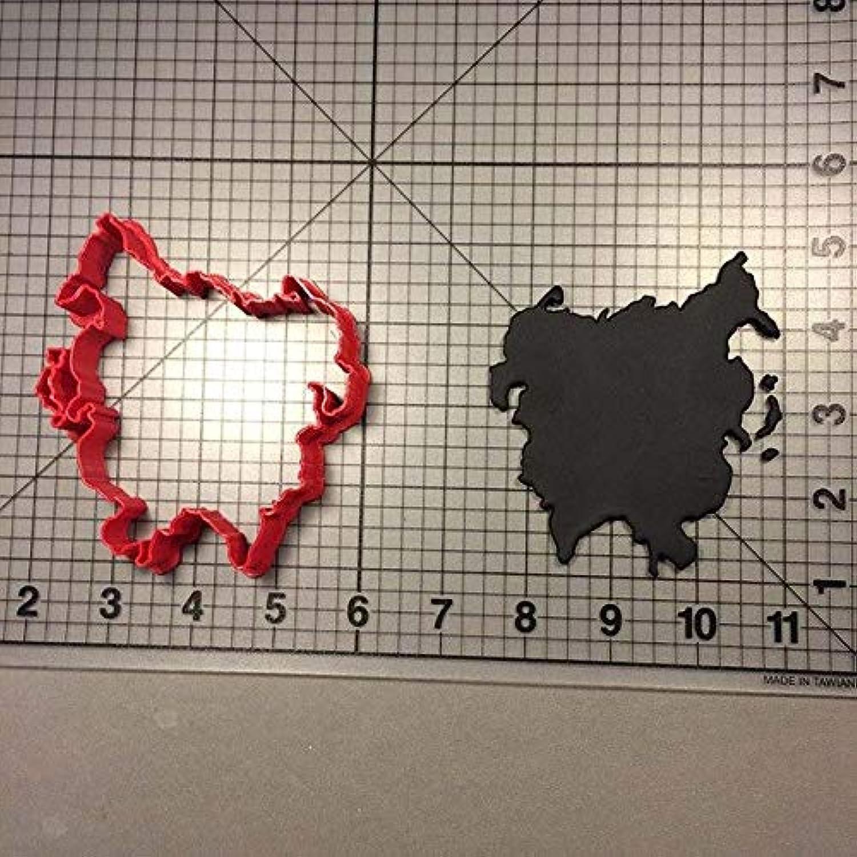 Red Large Door Mat Mouse Ears Polka Dots Red - Small Door Mat - Door Mat - Indoor Neoprene