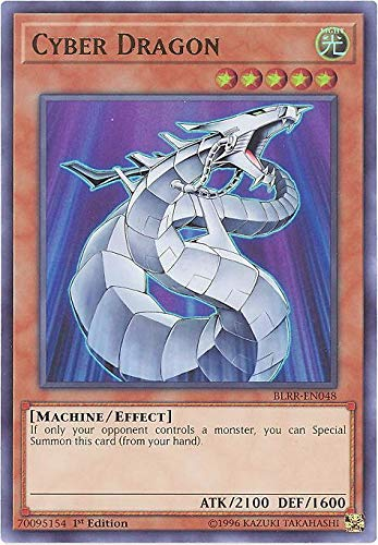 Cyber Dragon - BLRR-EN048 - Ultra Rare - 1st Edition