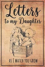 Letters to My Daughter: As You Grow a Modern Memory Book for Baby - Great Practical Gifts for New Mothers and Dads - Blank Lined Journal - Love Letters to Children -  Retro Vintage Gift idea