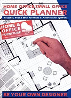 Home Office/Small Office Quick Planner: Reusable, Peel & Stick Furniture & Architectural Symbols.