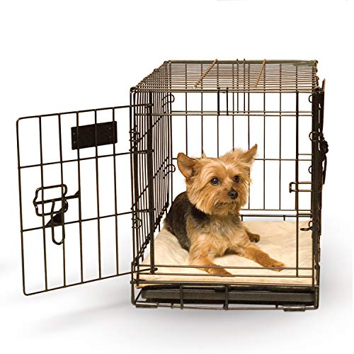 K&H Pet Products Self-Warming Crate Pad Tan X-Small 14 X 22 Inches