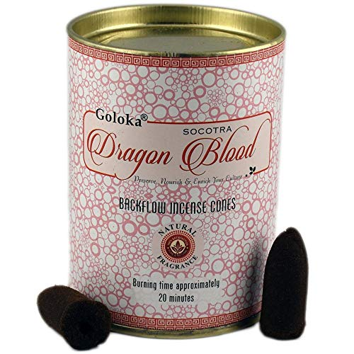 Goloka Backflow Dragons Blood Incense Cones