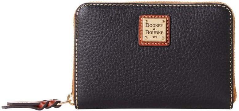 Dooney Bourke Pebble Medium Limited time sale Wallet Black Around Zip Max 83% OFF