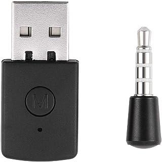 Socobeta Mini Ricevitore dongle Wireless 4.0 Adattatore Bluetooth USB 4.0 con trasmettitori Compatibile con Playstation PS4