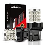 AUXLIGHT 7440 7441 7443 7444 T20 992 W21W LED Bulbs Brilliant Red, Ultra Bright 57-SMD LED Replacement for Brake/Tail Lights, Blinker Lights, Turn Signal/Parking or Running Lights (Pack of 2)