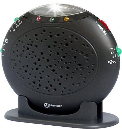 Geemarc AMPLICALL 10 Telefon-Zusatzklingel (max 95 dB) mit Blitzlicht - Ringflash - Klingeltonverstärker