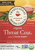 Traditional Medicinals Organic Throat Coat Tea Bags, 16 Count