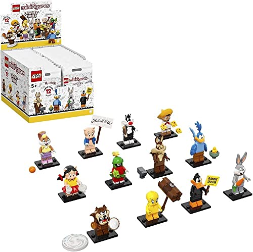 LEGO Looney Tunes Series 1 - Juego completo de 12 minifiguras diferentes 71030