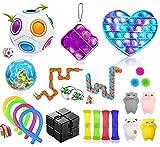 Fidget Toys,Fidget Toy Pack se Utiliza Para Aliviar el Estrés y Reducir la Ansiedad,Antiestres Niños Autismo Juguetes Sensoriales Antiestres,Regalos Para Niños,Pack de Fidget Toys(23 Piezas)