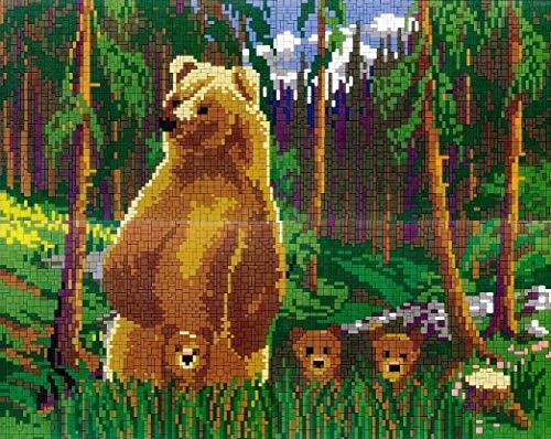 stickit Mini Stecksystem Bärenfamilie ca. 8.300 Teile Nr. 41294