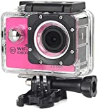 SSeir Hd Mini Sport Dv 1080p Manual, Yi 4k Action Camera,hd720p Sports Camera,White,Red