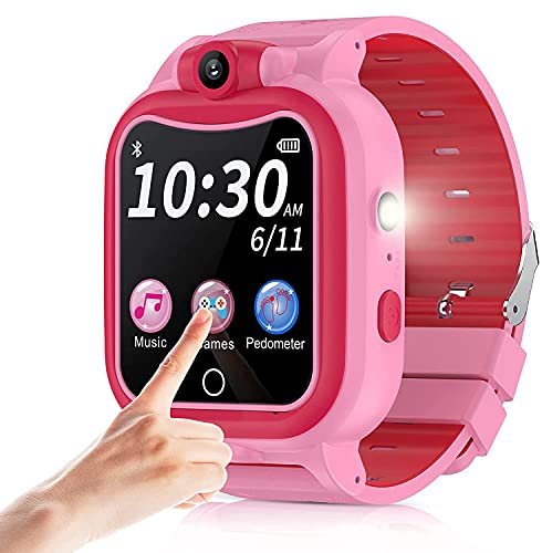 Kids Smart Watch with Camera for Boys Girls, Touchscreen Kid Digital...