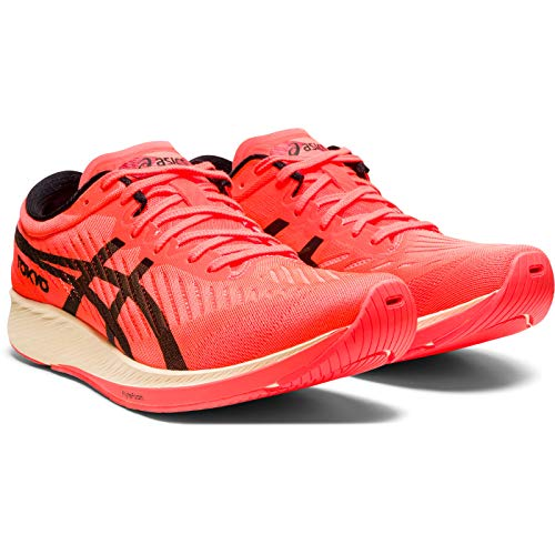 Asics MetaRacer Tokyo, Zapatillas de Running por Hombre, Rojo (SunriseRed/Black 700), 48 EU