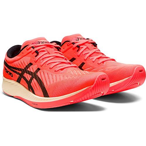 Asics MetaRacer Tokyo, Zapatillas de Running por Hombre, Rojo (SunriseRed/Black 700), 40 EU