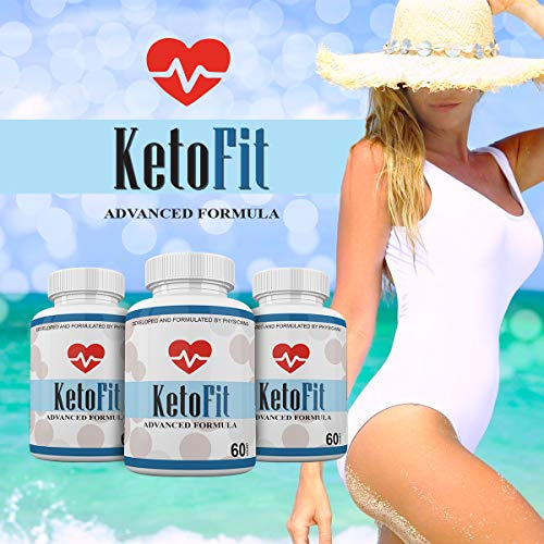 Keto Fit Advanced Formula - Ketosis Weight Loss Support - 120 Capsules - 3 Month Supply - KetoFIT 4