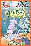 1000+ Underwater Animals Sticker Collection Book: Blank Pages to Attach Stickers: Ocean Animals Sticker Collection Book/Underwater Animals Sticker Collection Book For Kid's (Sticker Book,...