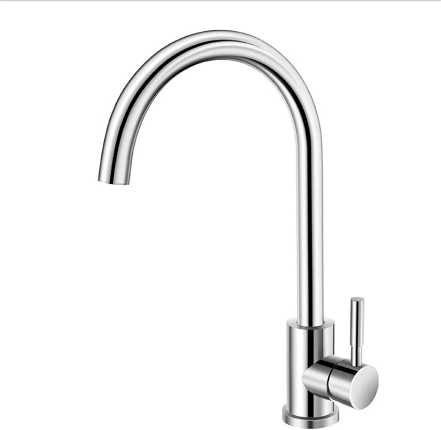 Kitchen Taps Faucet Modern Kitchen Sink Taps Stainless Steel304 Stainless Steel Lead-Free Kitchen Faucet Kitchen Hot and Cold Water Faucet