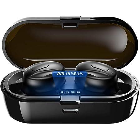 Bluetooth Kopfh/örer Bluetooth 5.0 In-Ear Kopfh/örer Kabellos mit CVC8.0 Noise Cancelling Kopfh/örer Touch-Control Bluetooth Kopfh/örer IPX5 Wasserdichte mit Schnellladebox f/ür Android//iPhone