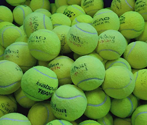 GREAT CONDITION Tennis Ball Branded used by Tennis Coaches and still in Very good form. WILSON, BABOLAT, HEAD, etc..