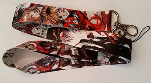 Conjunto de chaveiros Tokyo Ghoul Anime Kaneki Ken (fechos)