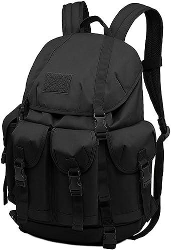 MUTANG de plein air Hiking Camping sac à dos Multi-Functional Water-Resistant sac à dos School Booksac Sports Leisure sac MultiCouleur (Couleur   Noir)