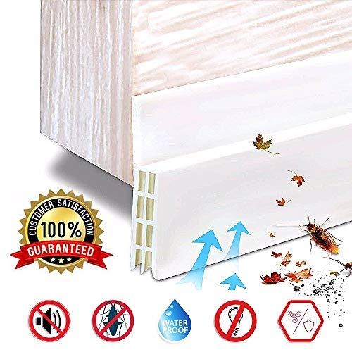 M-TOP Deurafdichting, zelfklevend, waterdicht, afdichtingsband, deur, tochtstopper, afdichtingsstrip, voor deur, tegen insecten, vervangende afdichting, geluidsafdichting, siliconen, deurstop