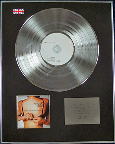 Century Music Awards Aerosmith – Limited Edition CD Platinum Disc – Young Lust (Anthologie)