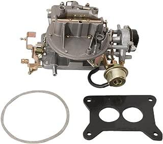 AUXMART Carburetor New 2100 for Ford Mustang Ford F150 F250 F350 Ford Comet Engine 289 Cu, 302 Cu, 351 Cu Jeep Wagoneer 1964~1978 Engine 360 Cu (Automatic Choke),